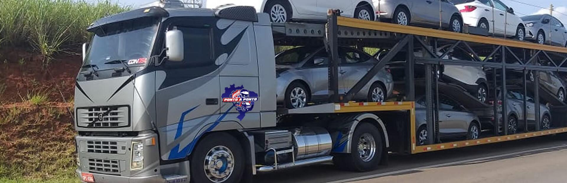 Transporte de Veículos com Caminhão Cegonha
